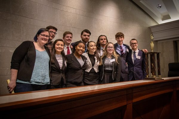 Mock Trial Team is the 2019 State Runner-Up!