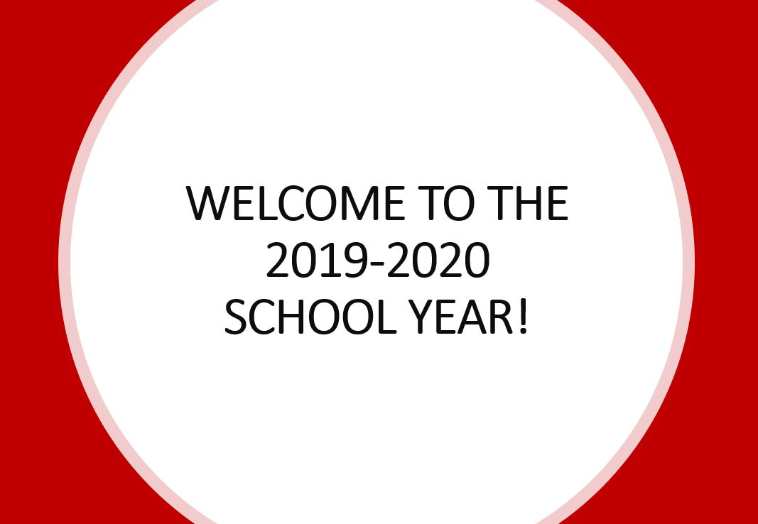 Welcome To The 2019 2020 School Year Lincoln High School