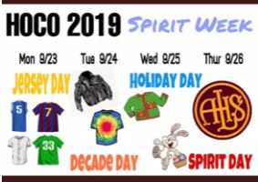 Homecoming Week Schedule